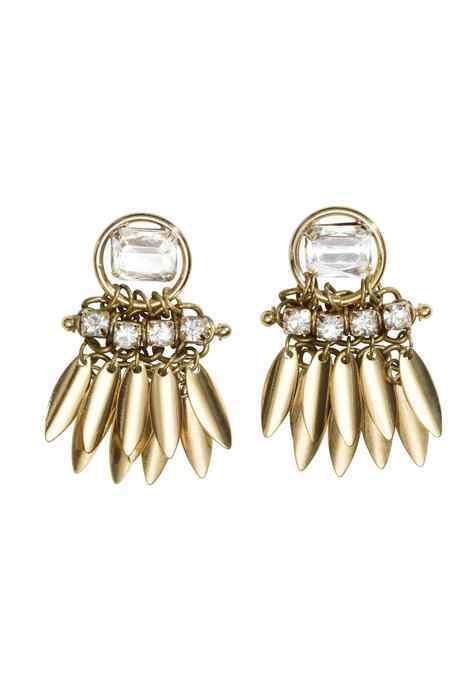 Biżuteria kolczyki H&M