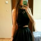 Czarna spódnica SheIn midi