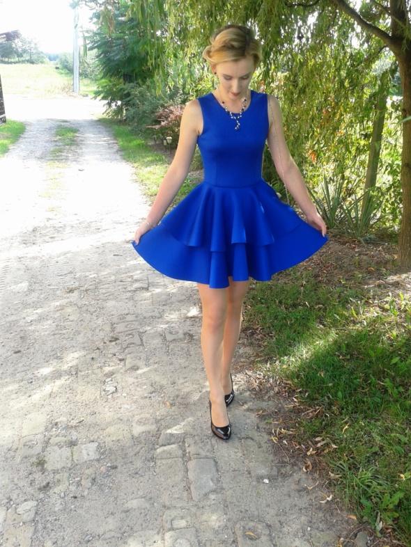 Blogerek Niebieska suknia