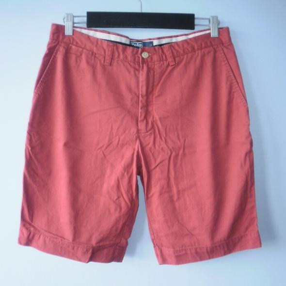 Spodenki, szorty Ralph Lauren męskie szorty spodenki koralowe rude