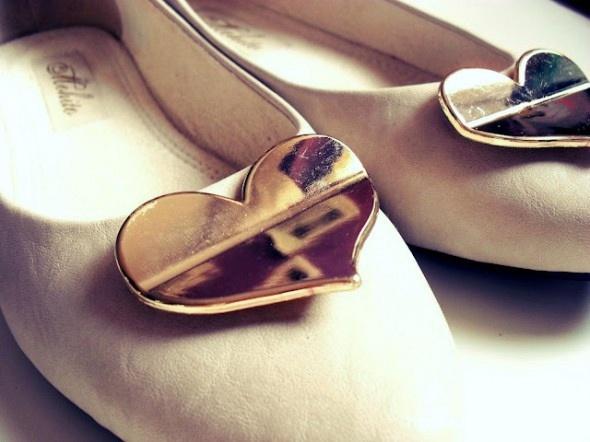 Cudne balerinki serca Mohito
