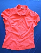 Koralowa elegancka koszula Orsay...