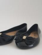 Czarne balerinki 37