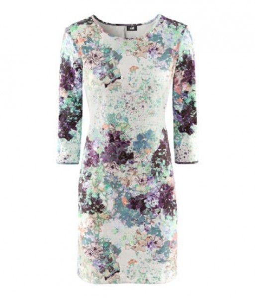 Ubrania sukienka h&m w kwiaty lana del rey