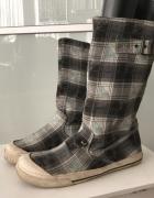 Wysokie buty z materiału ROXY roz 39...
