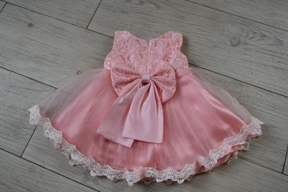 3549d9d5d7 Sukienki i spódniczki różowa sukienka dla dziewczynki chrzest roczek