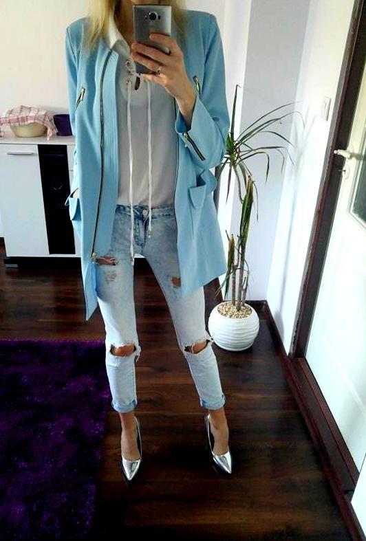 Mój styl Bejbi blue