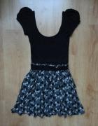 sukienka w kokardki zara