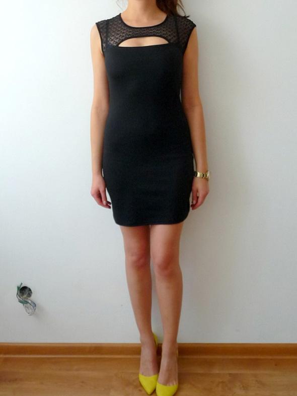 d060872c73 Mała czarna sukienka z koronką S 36 sexy obcisła w Suknie i sukienki ...