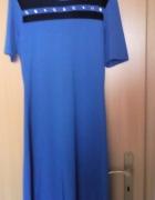Granatowa sukienka SIMPLE