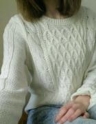 Sweterek biały H&M