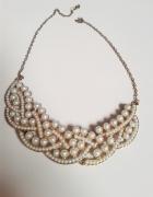 Naszyjnik złoto perły...