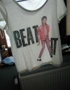 biała koszulka Michael Jackson hm...