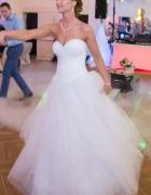 Suknia ślubna princeska cekiny...