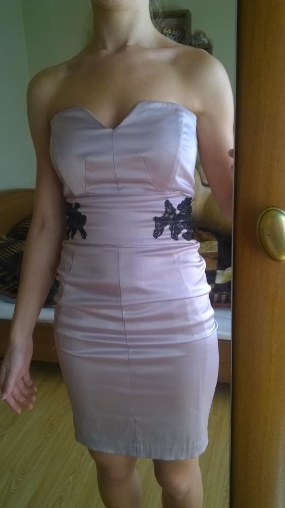 Ołówkowa sukienka na wesele r 34...