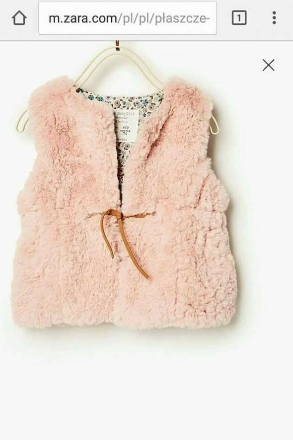 Futrzana kamizelka Zara...