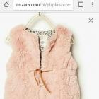 Futrzana kamizelka Zara