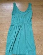 zielona cienka sukienka H&M