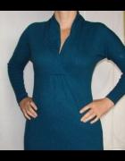 MONSOON sukienka tunika angora rabbit hair 40 42