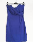 Sukienka reserved Niebieska 38