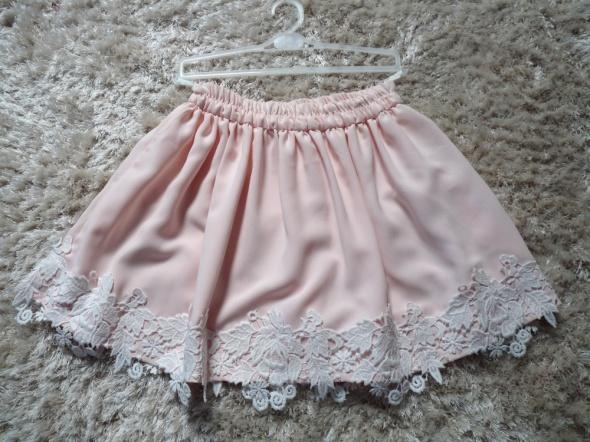 Spódnice spodnica nowa rozkloszowana pudrowa 34 36 38