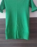 Sweter krótki rękaw LXL Bershka