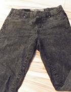 spodnie marmurki czarne