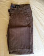 Długie męskie spodnie w kratkę House XL...