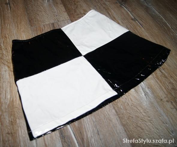 Spódnice Mini spódniczka motyw szachownicy