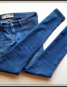 Hollister jeansy wygodne M L 38 40 super stan