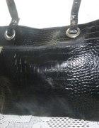 Duża czarna torebka od Avon