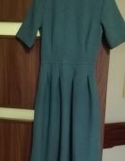Sukienka zielona H&M