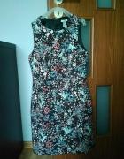 sukienka hm flora 36
