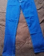 Spodnie jeansy niebieskie L