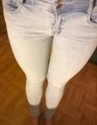 Jasne spodnie Reserved 36