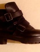 Skórzane buty Zara