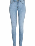 Jasne jeansy rurki h&m sprany jeans rozm 36