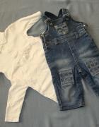 DIOR komplet spodnie bluzki ŚWIĘTA 68 74...