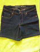 Spodenki szorty jeans dżins denim M