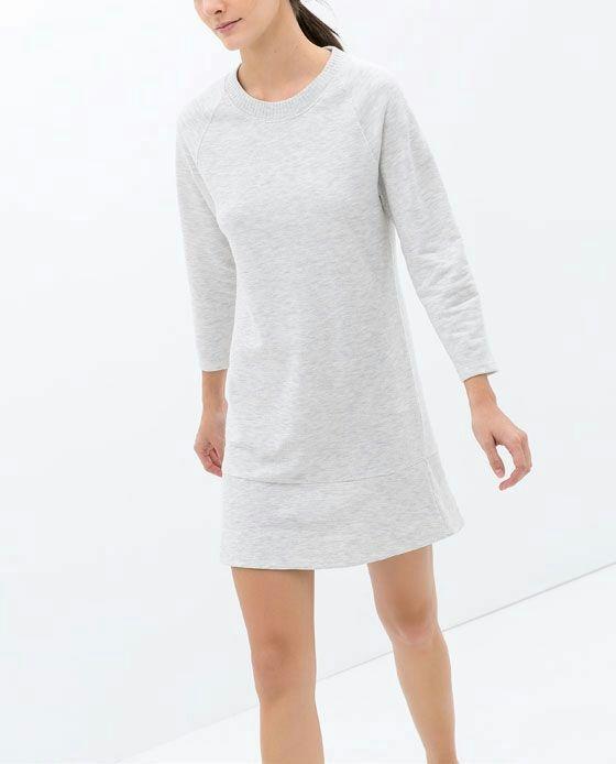 73512eb617 sukienka dresowa nowa zara 36 s w Suknie i sukienki - Szafa.pl