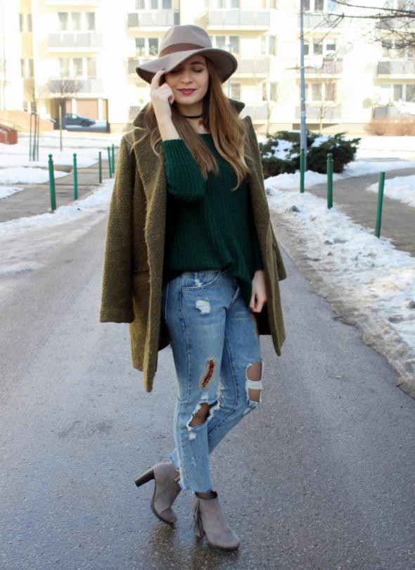 Blogerek Zieleń zimą