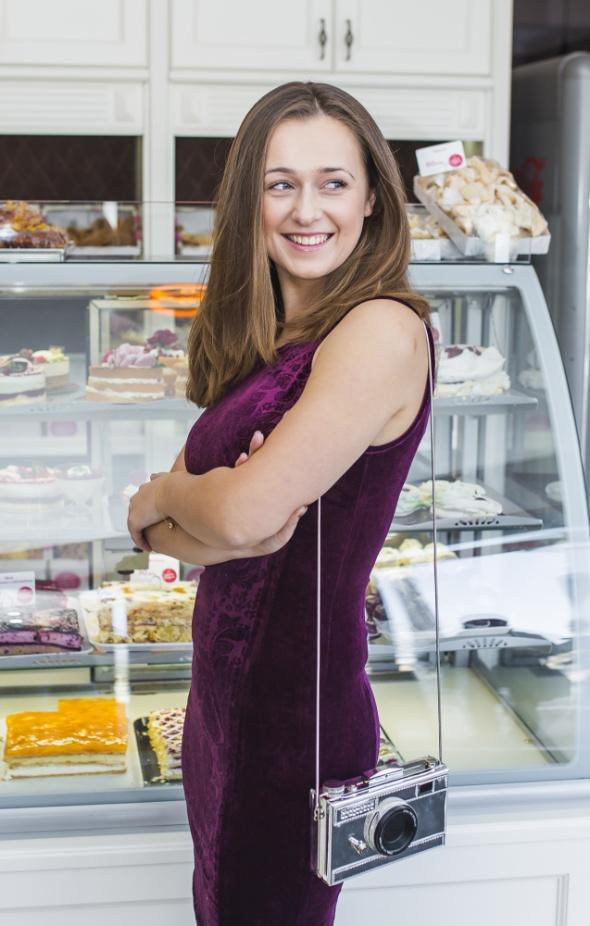 Blogerek Welowa sukienka w stylizacji