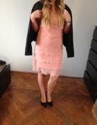 Łososiowa sukienka Ravel 36...