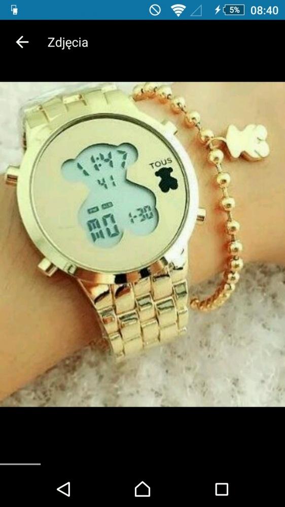zegarek tous złoty kupie