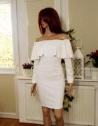 włoska sukienka hiszpanka długi rękaw M