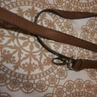 pasek do torebki w kolorze karmelowego brązu