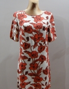 Zwiewna sukienka w kwiaty New Look rozm 38...