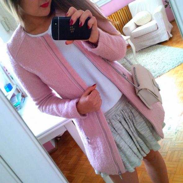 Mój styl wełniany płaszczyk