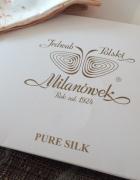 Szal Polski Jedwab Milanówek PURE SILK...