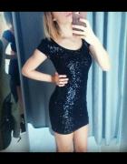 Sukienka cekinowa h&m